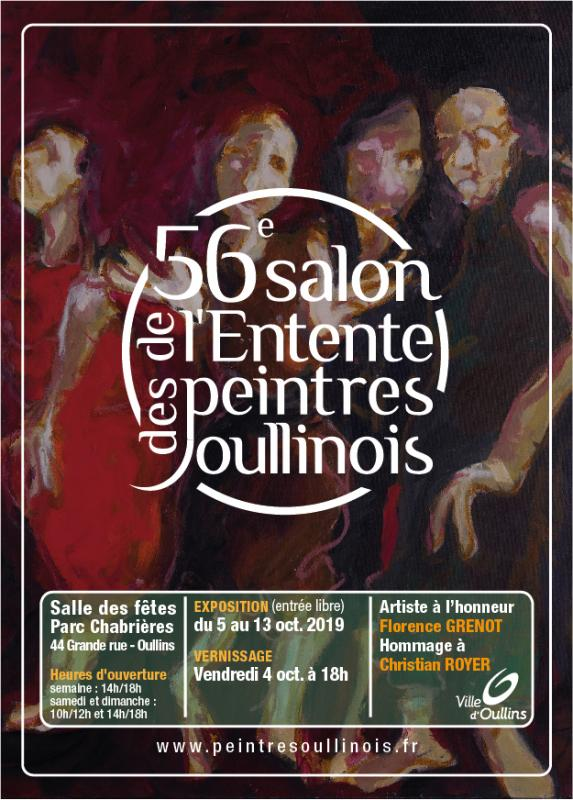 Affiche salon peintres 2019